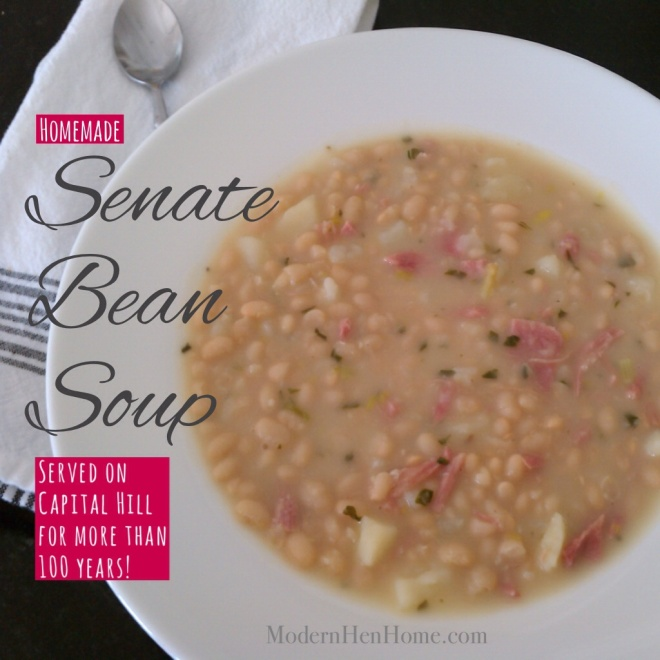 Senate Bean Soup -- Classic Homemade Goodness!