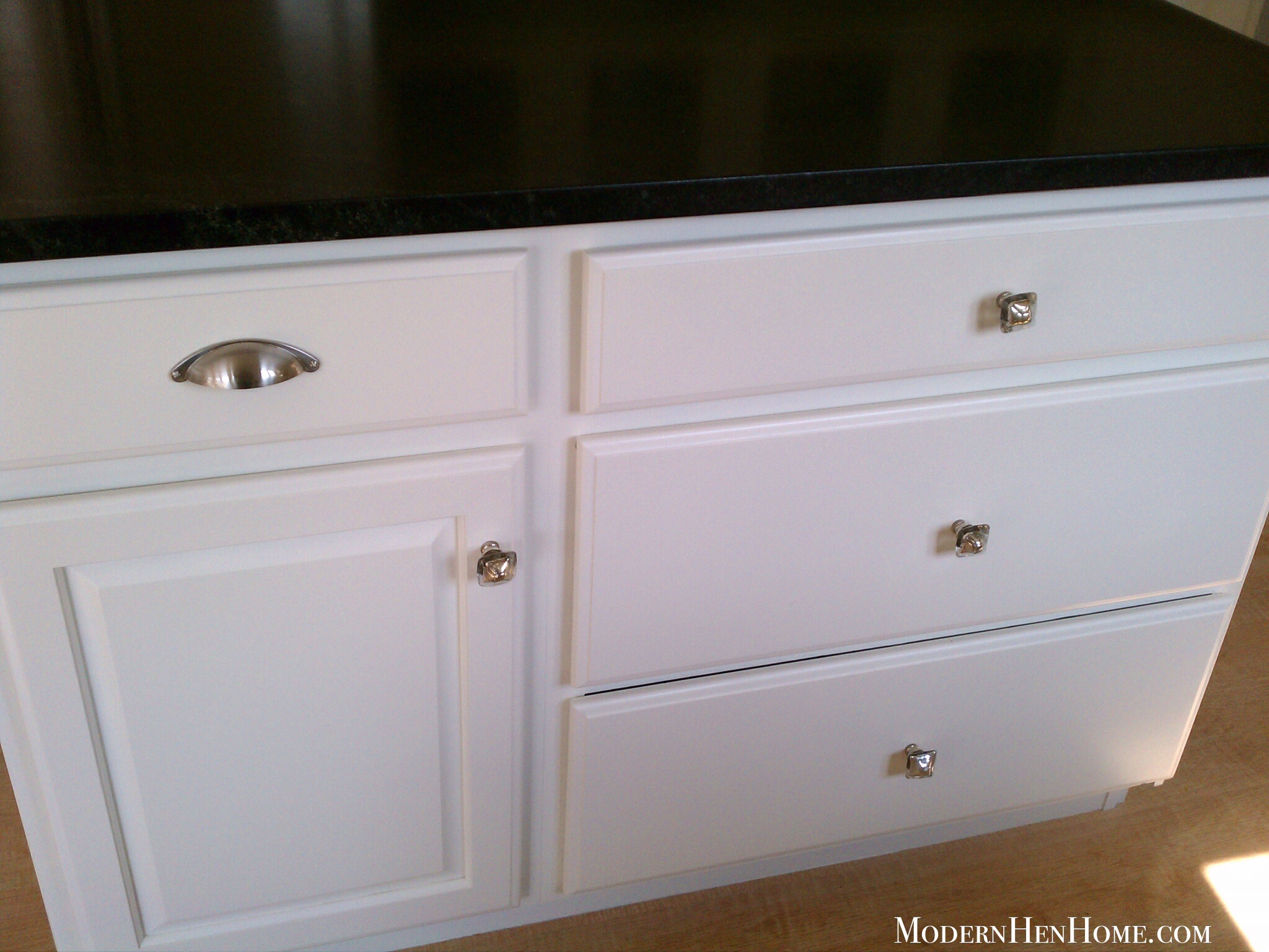 Before & After: Painting A Kitchen Island On A Budget ...