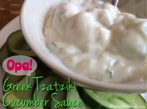Greek Tzatziki Cucumber Sauce