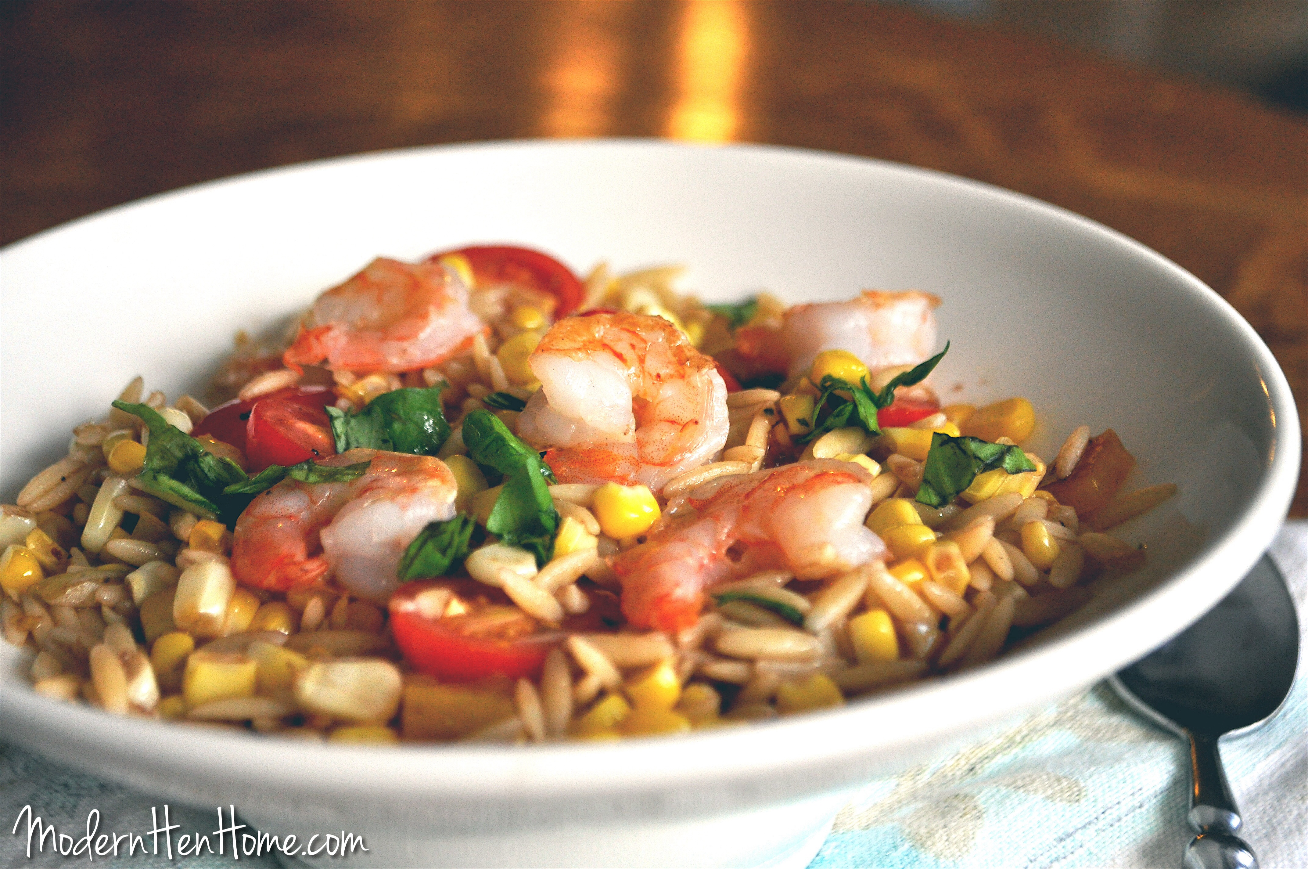 Summer Orzo with Shrimp pics