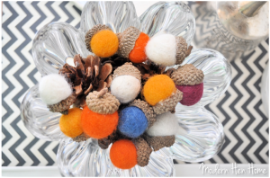 How to Make Stunning Felted Wool Acorns